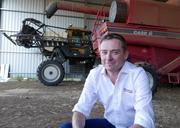 Glenn Skerman - In the harvester shed