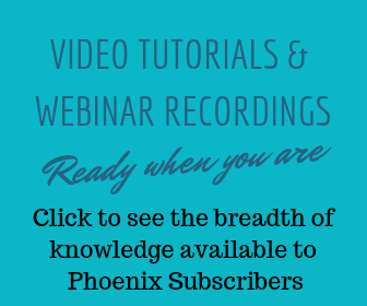 Video Tutorials and Webinar Recordings Link