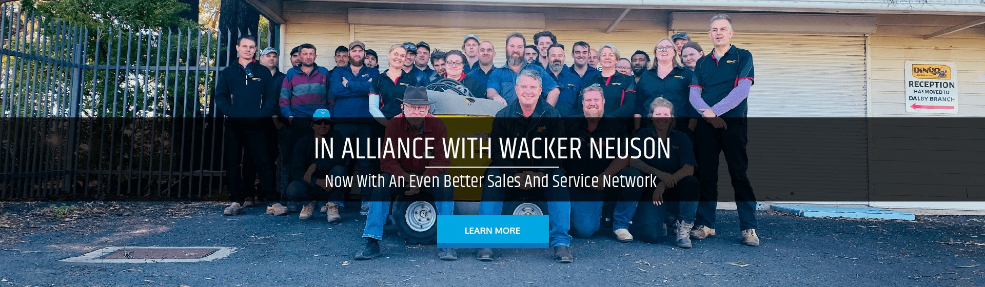 In Alliance With Wacker Neuson. Now With An Even Better Sales And Service Network.