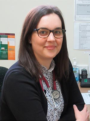 Dr Annabelle Franklin at Toowoomba Medical Centre